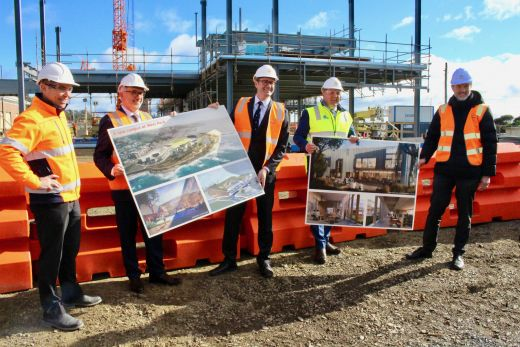 WP construction milestone