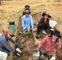 Convict Archaeology Field School students uncover convicts' solitary cells